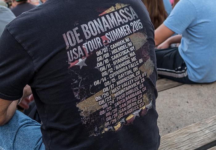 Morrison Red Rocks Amphitheatre: Joe Bonamassa USA Tour Summer 2015 Konzert-T-Shirt