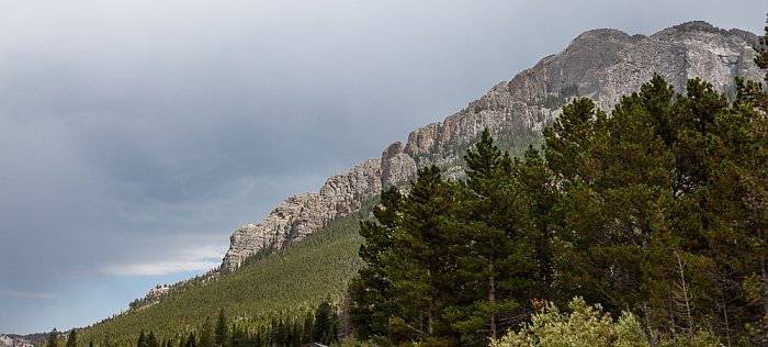 The Crags Rocky Mountains