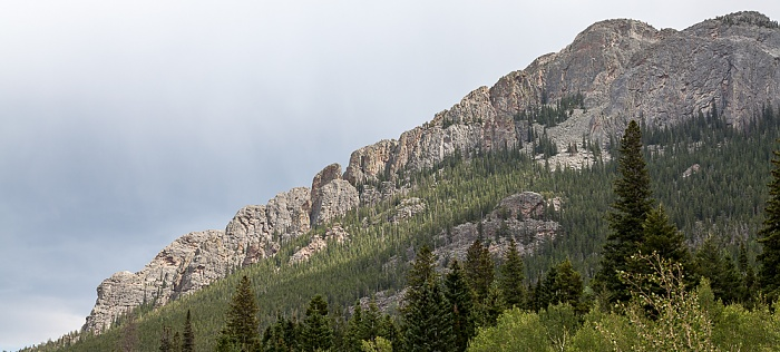 Rocky Mountains The Crags