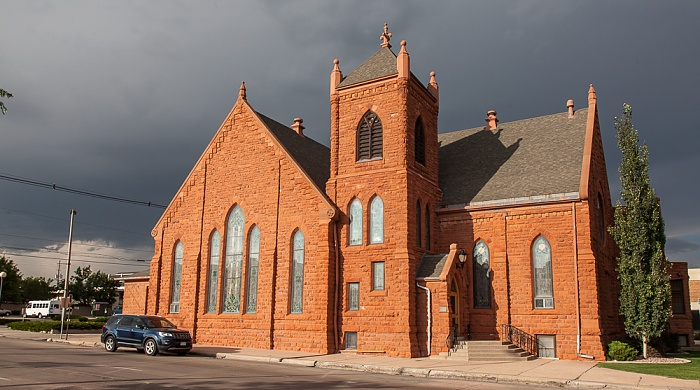 U.S. Route 85 (CanAm Highway): First United Methodist Church Cheyenne