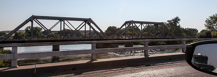 Wyoming Highway 319: Brücke über den North Platte River