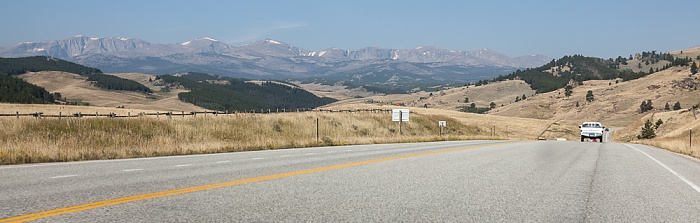 Wyoming U.S. Route 16 Bighorn Mountains