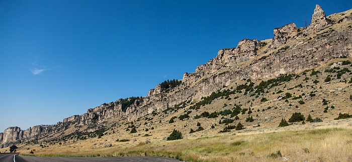 Wyoming Bighorn National Forest: U.S. Route 16