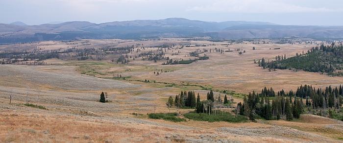 Zwischen Tower Junction und Canyon Village Yellowstone National Park