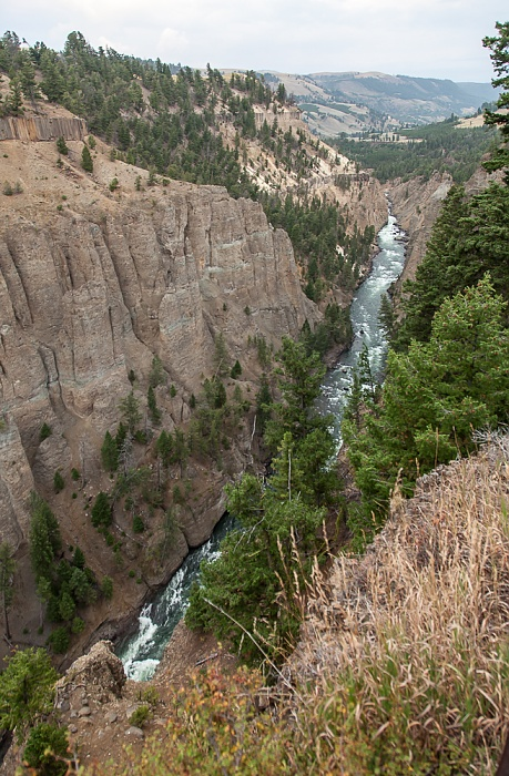 The Narrows, Yellowstone River Yellowstone National Park