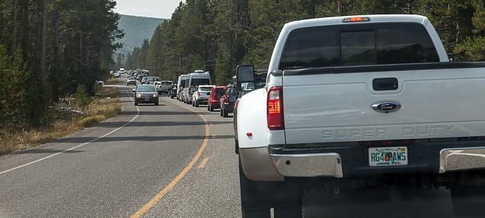 Yellowstone National Park Grand Loop Road