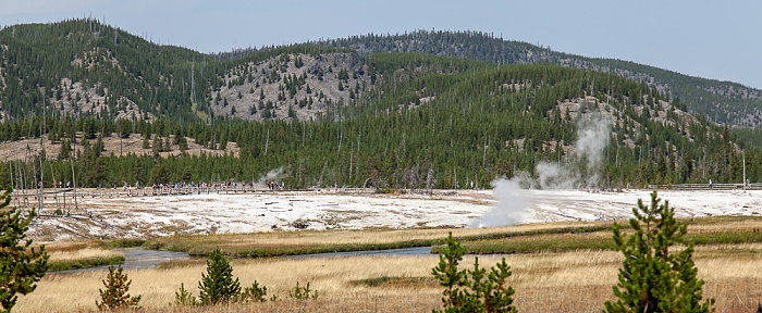 Upper Geyser Basin: Biscuit Basin Yellowstone National Park