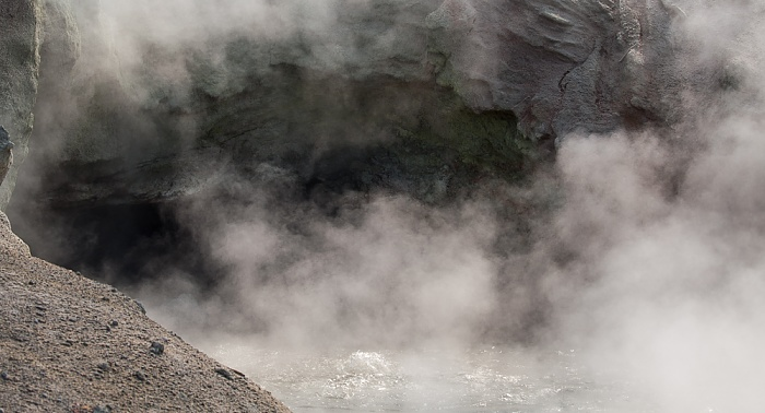Norris Geyser Basin: Back Basin - Green Dragon Spring Yellowstone National Park