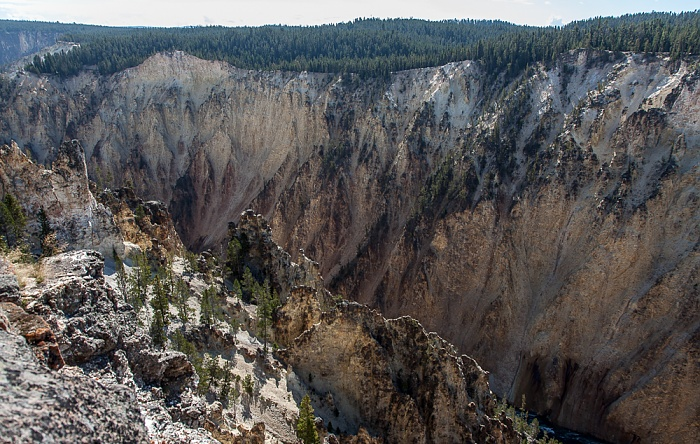 Grand Canyon of the Yellowstone Yellowstone National Park