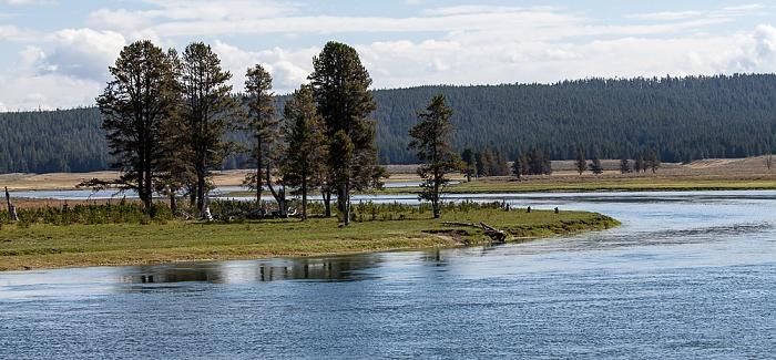 Yellowstone National Park Yellowstone River