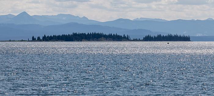 Yellowstone National Park Yellowstone Lake: Frank Island