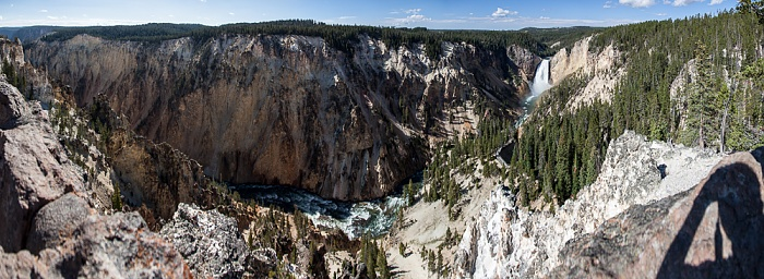 Grand Canyon of the Yellowstone, Yellowstone River Yellowstone National Park