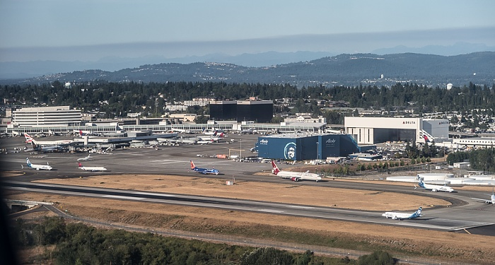 SeaTac Seattle-Tacoma International Airport Luftbild aerial photo