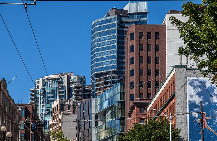 Downtown Seattle: 1st Avenue Belltown