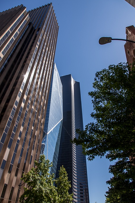 Downtown Seattle: 4th Avenue 901 Fifth Avenue Columbia Center F5 Tower