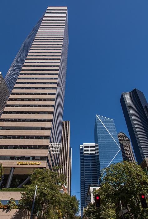 Downtown Seattle: Marion Street / 2nd Avenue - Wells Fargo Center (ehem. First Interstate Center) 800 Fifth Avenue 901 Fifth Avenue Columbia Center F5 Tower Seattle Municipal Tower