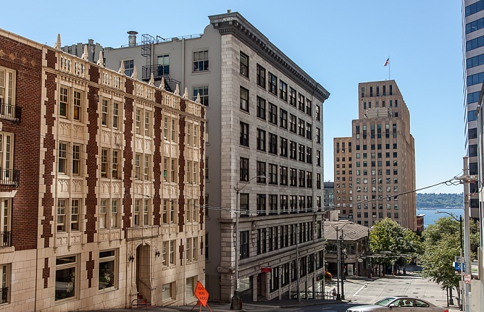 Downtown Seattle: Marion Street Seattle