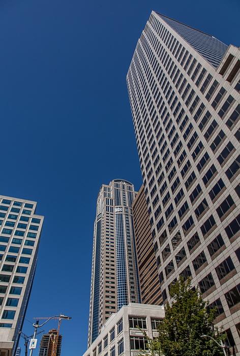 Downtown Seattle: 2nd Avenue - 1000 Second Avenue (ehem. Key Tower, Seattle Trust Tower) 1111 Third Avenue 1201 Third Avenue