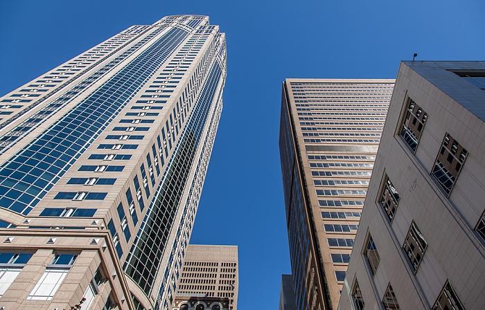 Downtown Seattle: Seneca Street / 2nd Avenue