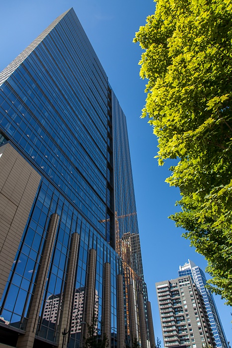 Downtown Seattle: 2nd Avenue - Russell Investments Center