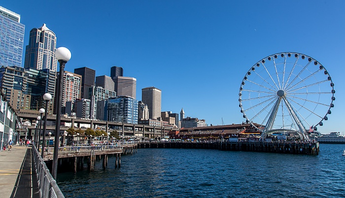 Central Waterfront, Elliott Bay (Puget Sound), Downtown Seattle Seattle