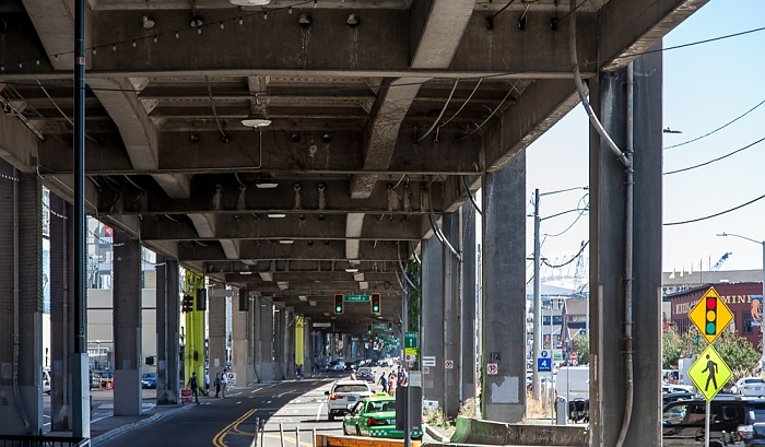 Seattle Central Waterfront: Alaskan Way Viaduct
