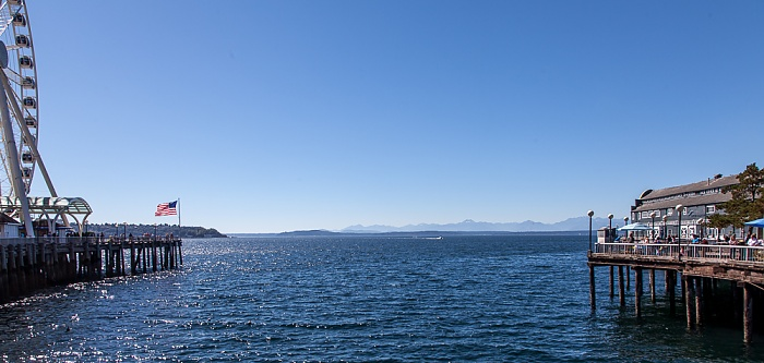 Central Waterfront, Elliott Bay (Puget Sound) Seattle