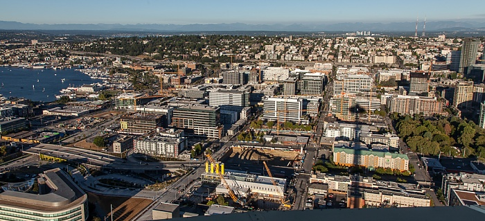 Seattle Blick von der Space Needle: Capitol Hill