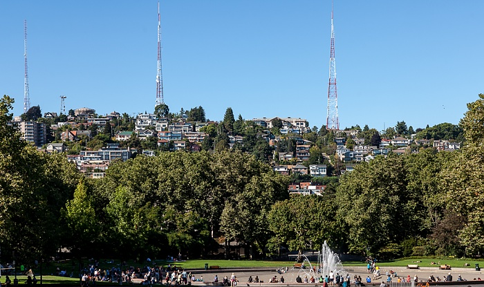 Seattle Center, Queen Anne Hill