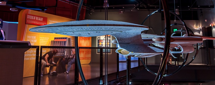 Seattle Museum of Pop Culture (MoPOP, früher EMP Museum): Star Trek: Exploring New Worlds