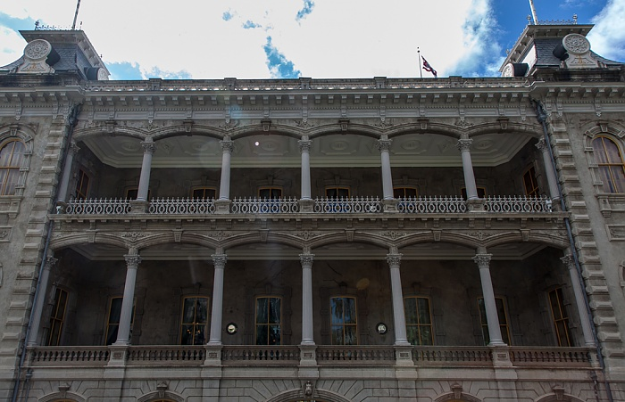 Downtown Honolulu: Hawaii Capital Historic District - Iolani Palace