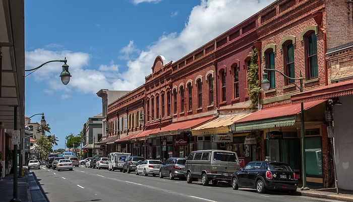 Downtown Honolulu: Chinatown Historic District - Nuuanu Avenue