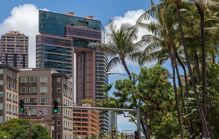 Honolulu Kapiolani Boulevard / Kalakaua Avenue Waikiki Waikiki Landmark