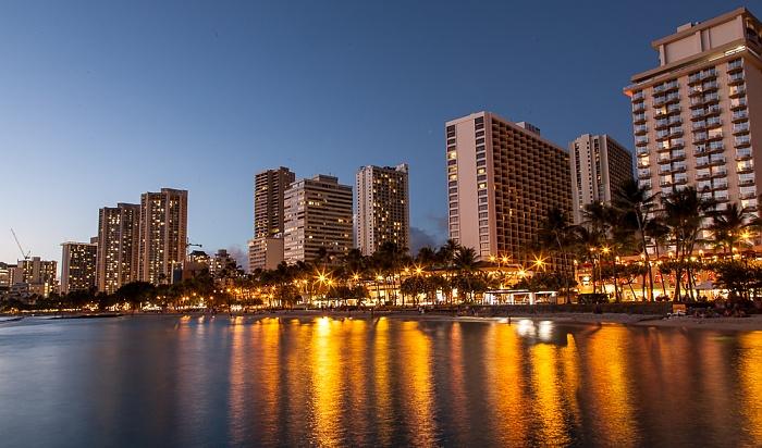 Waikiki: Waikiki Beach, Pazifik Honolulu