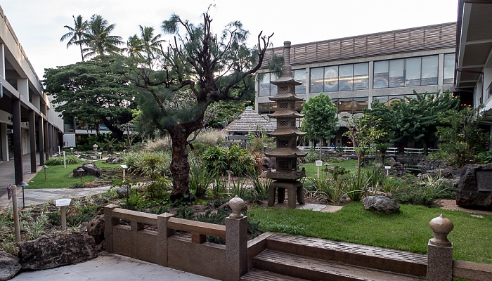 Honolulu Daniel K. Inouye International Airport: Cultural Gardens