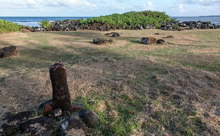 Kapaa Alakukui Point: Kukui Heiau