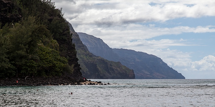 Hanalei Pazifik, Na Pali Coast