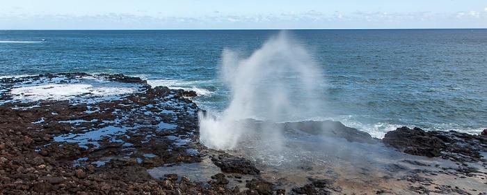 Koloa Spouting Horn Park, Spouting Horn, Pazifik
