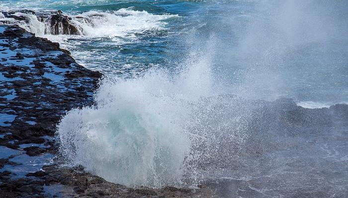 Koloa Spouting Horn, Pazifik