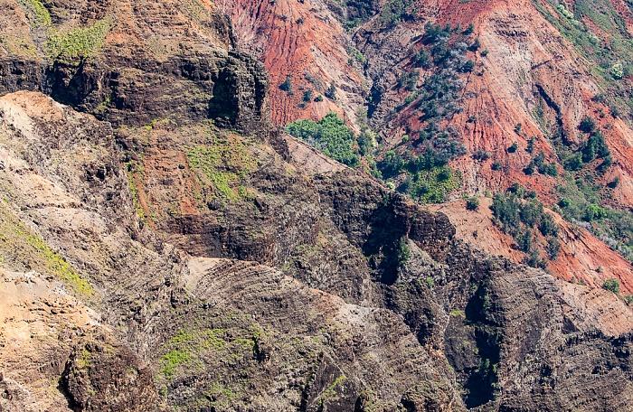 Waimea Canyon State Park Blick vom Waimea Canyon Lookout: Waimea Canyon
