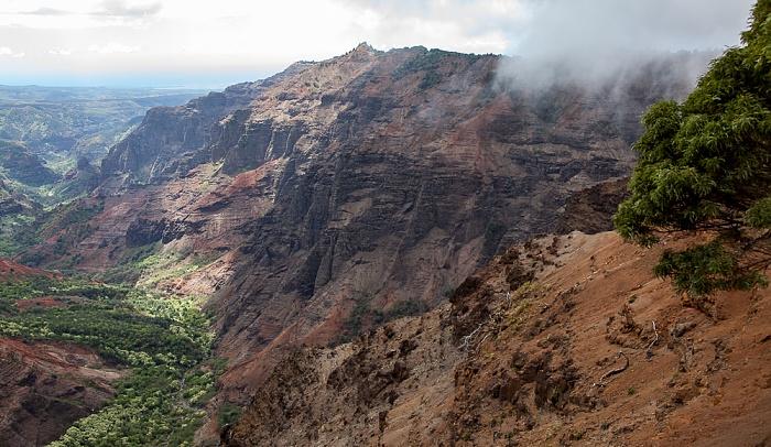 Waimea Canyon State Park Blick vom Pu'u Hinahina Viewpoint: Waimea Canyon