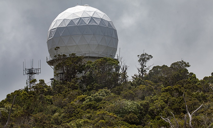 Koke'e State Park Kokee AFS Hawaii Air National Guard Radar Site