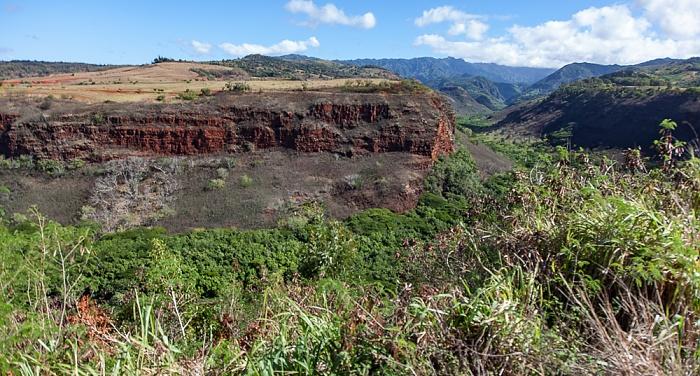 Eleele Blick vom Hanapepe Valley Lookout: Hanapepe Valley