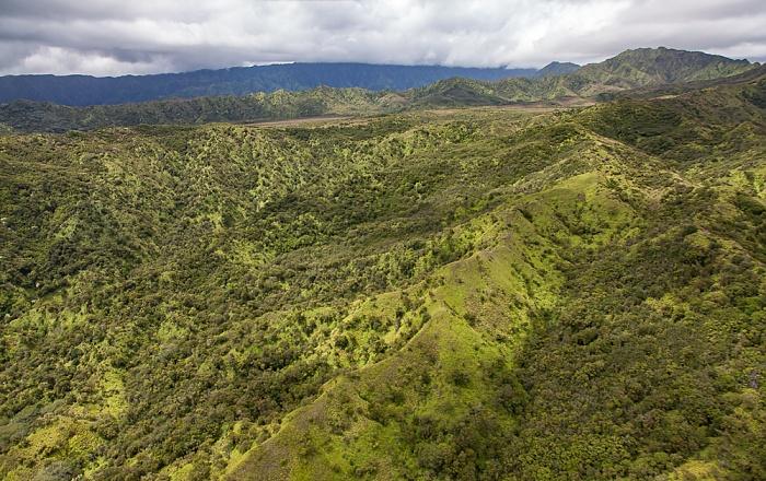 Kauai Blick aus dem Hubschrauber Luftbild aerial photo