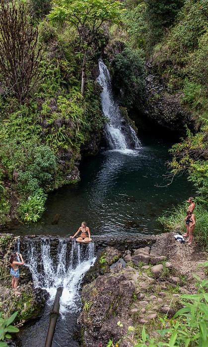 Maui Hana Highway: Hanawi Falls