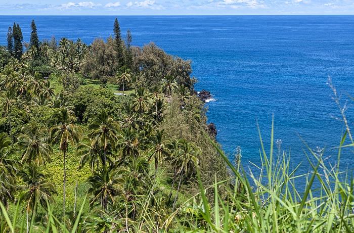 Maui Hana Highway: Ke'anae Peninsula, Pazifik
