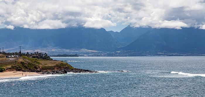 Hana Highway: Pazifik, West Maui Mountains