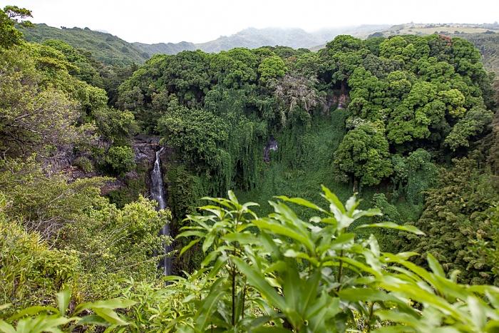 Haleakala National Park Kipahulu Section: Pipiwai Trail - Seven Sacred Pools at Ohe'o