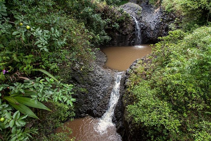 Haleakala National Park Kipahulu Section: Pipiwai Trail - Pipiwai Stream