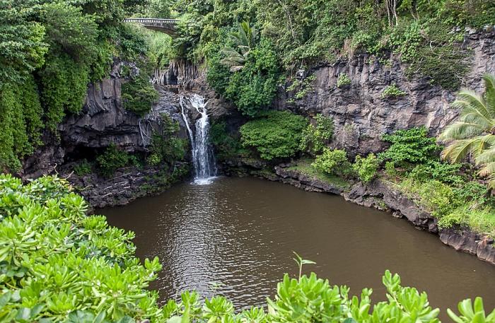 Haleakala National Park Kipahulu Section: Seven Sacred Pools at Ohe'o
